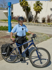 AHC Officer on Bicycle