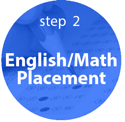 step 2: English/Math Placement