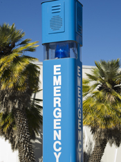 Emergency Phone Tower