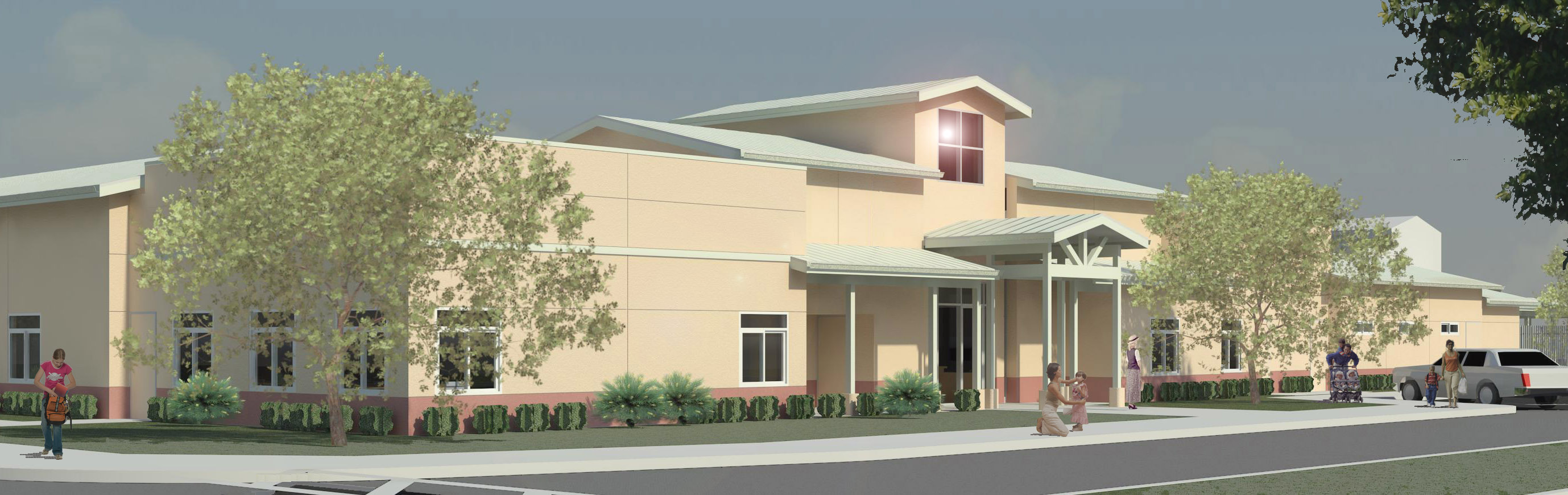 Children's Center Rendering