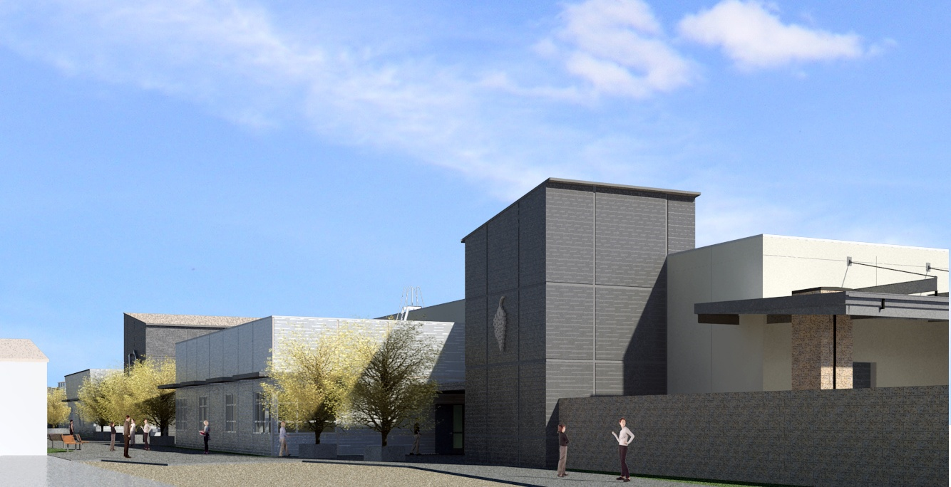 Industrial Technology Building Rendering