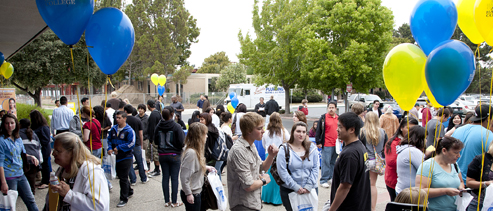 New students gather for Orientation
