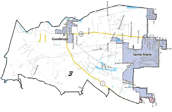 Trustee Boundary Area 3