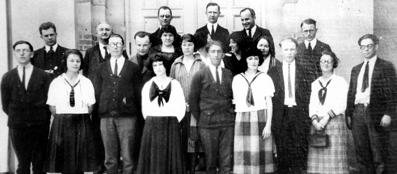 Class of 1923 students