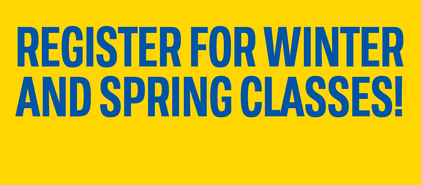 Winter and spring registration