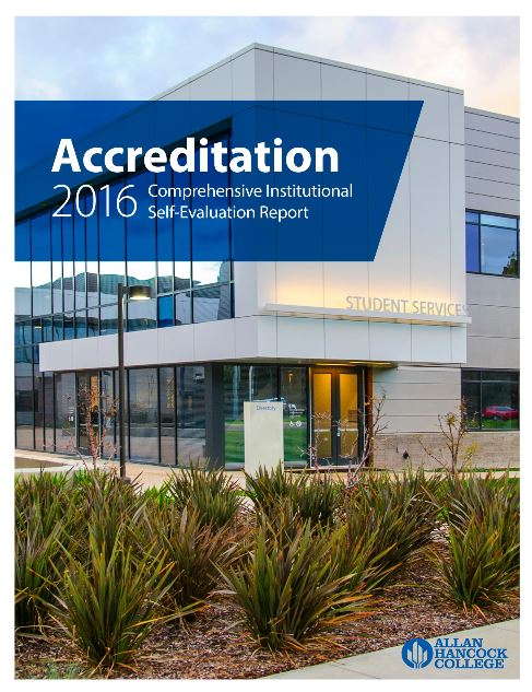 Accreditation 2016 Comprehensive Institutional Self-Evaluation Report