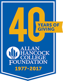 40 years of giving Allan Hancock College Foundation 1977-2017