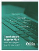 Technology Master Plan Mid-term report cover